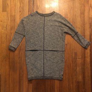 Billy Reid gray sweater dress